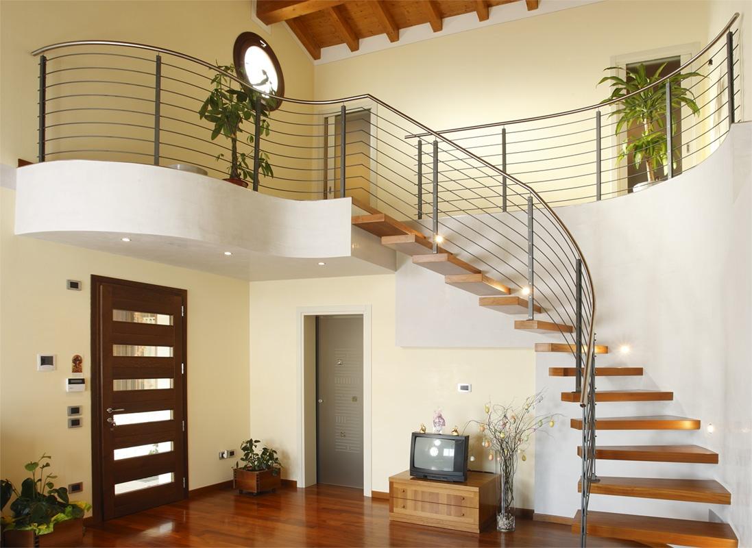 Alzata Massima Scala Interna scale da interno, progettazione, realizzazione e posa