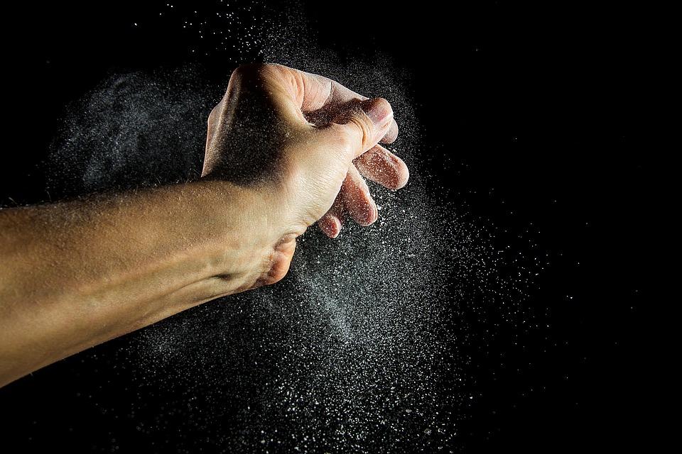 moquette polvere